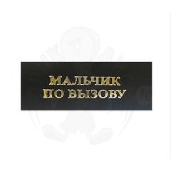 Наклейка на Оскар «Мальчик по вызову»