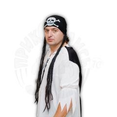 Бандана Пирата с косичками
