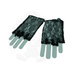 Перчатки кружево, без пальцев