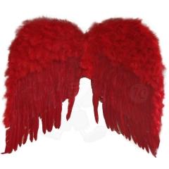 Крылья «Перьевые» (красные)