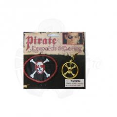 Повязка «Пирата» с серьгой
