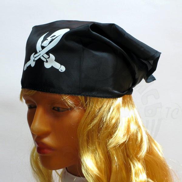 Бандана пирата своими руками 65