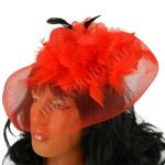 Шляпа Дамская с вуалью (mini)