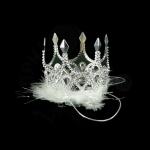 Корона «Принцессы» с  мехом