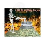 Скелет-мельница
