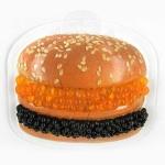 Гамбургер С икрой