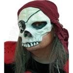 Череп пирата (с волосами)