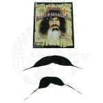 Борода и усы «Джека воробья»