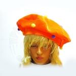 Шляпа Цветной горошек