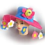 Шляпа Цветочки