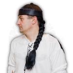 Шляпа Китайская (с черной косичкой)