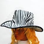 Шляпа Ковбоя (зебра)