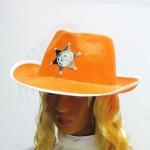 Шляпа Шерифа (оранжевая)